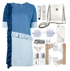 """"""".teamwork."""" by vvasiliana ❤ liked on Polyvore featuring Chanel, Gucci, Manebí, Steve J & Yoni P, Christian Dior, ChloBo, russell+hazel, Boohoo, J.Crew and Baxter of California"""