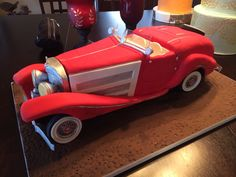 Classic Car Cake For A 60th Birthday! by N... | Cake Decorating Ideas