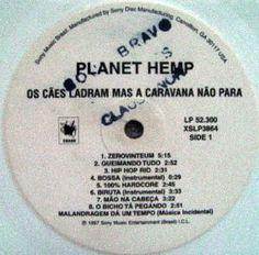 PLANET HEMP - OS CÃES LADRAM... (LP) - R$ 350,00 quem se anima?