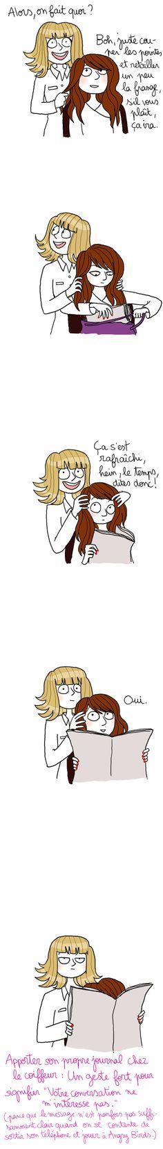 quelque chose que l'on peut redouter chez le coiffeur !!!!! :D