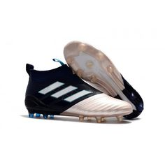 Adidas ACE 17  PureControl FG Black White Blue