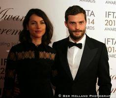 Jamie & Amelia at the 2014 Irish Film & TV Awards