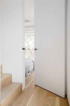 40 Awesome Minimalist Home Door Design Ideas That Look Beautiful Pivot Doors, Internal Doors, Home Door Design, House Design, Invisible Doors, Inside Doors, Contemporary Doors, House Doors, Home And Deco