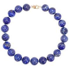 Lapiz Lazuli Large Round Bead 585 Or 14 Karat Choker Vintage Necklace Silver Choker Necklace, Beaded Necklace, Turquoise Beads, Gold Beads, Luxury Jewelry, Boho Jewelry, Vintage Jewelry, Jewelry For Her, Necklace Lengths