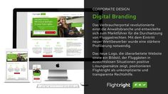 Corporate Design for Flightright by SYNDICATE DESIGN AG