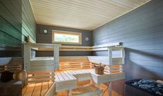 Colors for sauna bliss