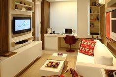 Descubra Ideias criativas para Decoração de Apartamentos pequenos, dessa maneira você economiza na hora de decorar o apartamento pequeno.