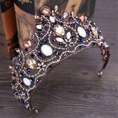 Glass Jewelry, Cute Jewelry, Hair Jewelry, Wedding Jewelry, Fashion Jewelry, Wedding Hair Accessories, Jewelry Accessories, Crown For Women, Bride Tiara