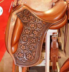 Beautiful English Dressage Saddle