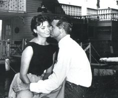 Sophia Loren with Gary Grant and in love