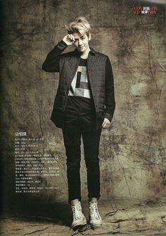 Baekhyun for Men's Style September Issue