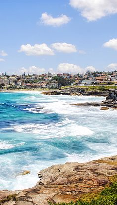 The Bondi to Bronte (or Coogee) coastal walk in Sydney's East, Australia. A beautiful walk on a clear day, just prepare yourself for heavy foot traffic!