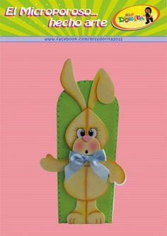 Miss Dorita: Molde Conejito de Pascua