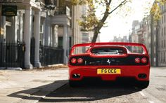 Ferrari F50 Image by Alex Penfold || Tumblr