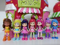 Strawberry Shortcake Mini Dolls from the Hasbro Collection