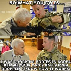 ImgLuLz Serve you Funny Pictures, Memes, GIF, Autocorrect Fails and more to make you LoL. Military Jokes, Military Veterans, Military History, Navy Corpsman, Video Humour, Pokemon, Military Pictures, Twisted Humor, Adult Humor