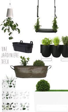 Blueberry Home sélectionne une jardinière BACSAC pour son shopping terrasse !