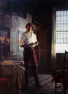 Peter the Great, 1982-84 ~ by Sergei Alekseevich Kirillov ~ leading modern Russian artist, focusing on historical paintings. wikipwdia ~Via Annouschka Przybylska