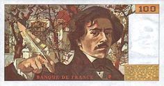 Francs banknote