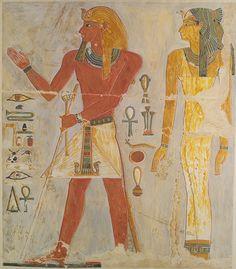 Relief of Pharaoh Thutmose I, Egyptian, New Kingdom, Dynasty 18, c. 1504 - 1492 BC