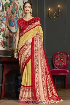 Beckoning Cotton Printed Casual Wear Saree - Partywear Designer Printed Causal Cotton Saree Designer Fancy Printed Saree Saree Length:- Meter And Meter Weight:- Each Occasion:- Causal Ladies Suits Indian, Suits For Women, Aunty In Saree, Checks Saree, Indian Clothes Online, Work Sarees, Fancy Sarees, Printed Sarees, Sarees Online