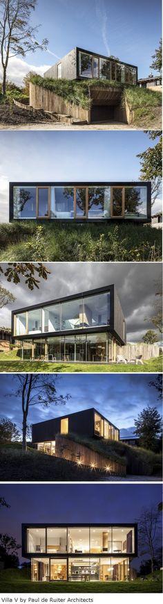 Villa v par paul de ruiter architects
