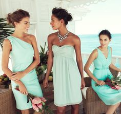J. Crew Spring 2013. Mint Beach Wedding--