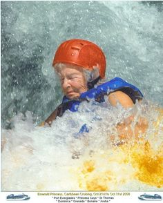 Go white water kayaking for the first time....on your 90th birthday (like my Aunt Ginny)