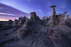 Инопланетные пейзажи пустоши Битси / Туристический спутник