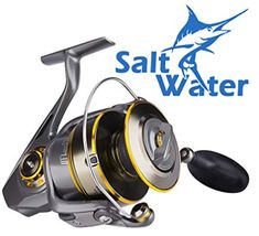 a57786513c5 HaiBo Saltwater Spinning Reel with Corrosion Resistant, Max 61.7 lbs Drag  is Ideal Conquering Big