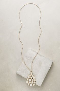 Firstlight Pendant Necklace #anthropologie