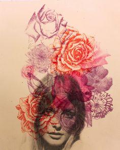 portrait w/ roses