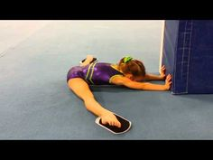 Press handstand shaping drill - YouTube