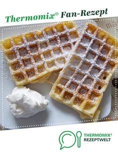 Belgische Waffeln von jovegro. Ein Thermomix ® Rezept aus der Kategorie Backen süß auf www.rezeptwelt.de, der Thermomix ® Community.