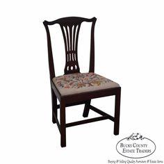 Kindel Winterthur Philadelphia Queen Anne Side Chair (B ...