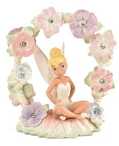 Lenox Collectible Disney Figurines, Tinker Bell's magical garden $208