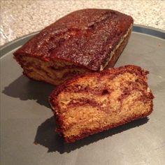 Cake marbré : vanille - chocolat