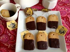 IMG_3405 tea bag shaped shortbread cookies! IDC what shape they're cut into! I want these cookies!