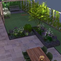 Another great project🏡 Residents want to have their garden elderly-friendly. I love the cm wood look tiles! Enjoy your evening✨…