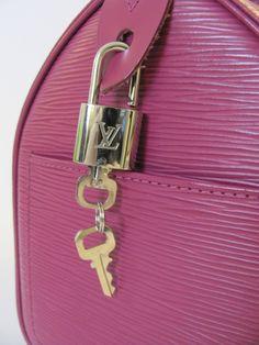 Louis Vuitton speedy 30 bag in pink