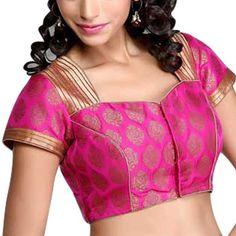 Indienne débardeur imprimée sari saree blouse choli été crochet et fermeture des…