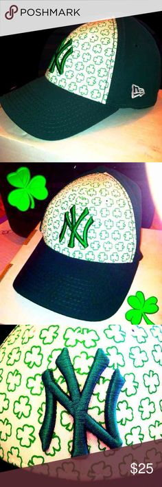 Rare Limited Edition St. Patty s Day Yankee Cap NWOT Vintage super limited  edition official Yankee ffc83610307f