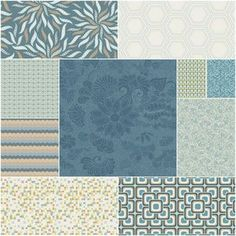 Legacy Fat Quarter Bundle in Topaz Traditions