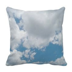 Just Clouds Pillow 4 I could see several of these great cloud pillows on a couch or a bed.