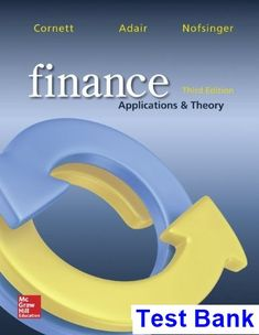 Financial accounting ifrs 3rd edition solutions manual weygandt finance applications and theory 3rd edition cornett test bank test bank solutions manual fandeluxe