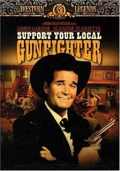 Another of my Top Fave James Garner Movies! Support Your Local Gunfighter DVD ~ James Garner