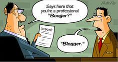 I'm no booger!  I'm a blogger!  lol http://wifeymommypreneur.blogspot.com