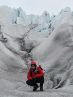 Trekking en un glaci