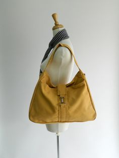 Back To School Sale  Ashley in Mustard // by christystudio on Etsy, $46.00