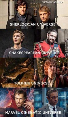 Johnlock, Benedict Cumberbatch, Dc Memes, Marvel Memes, Marvel Funny, Baker Street, Marvel Dc, Sherlock Meme, Sherlock Quotes